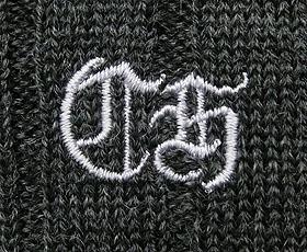 セーター刺繍