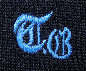 セーターの刺繍