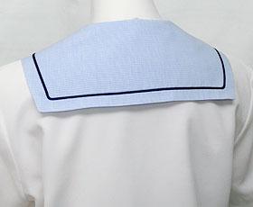 セーラーブラウス襟