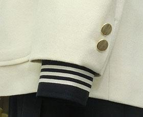 ジャケット袖